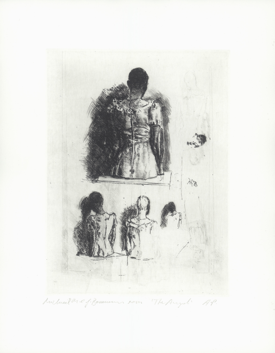 Michaël Borremans, The Angel, 2014.