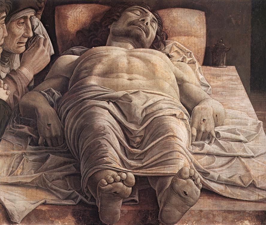 Andrea Mantegna, Dead Christ, c. 1480.