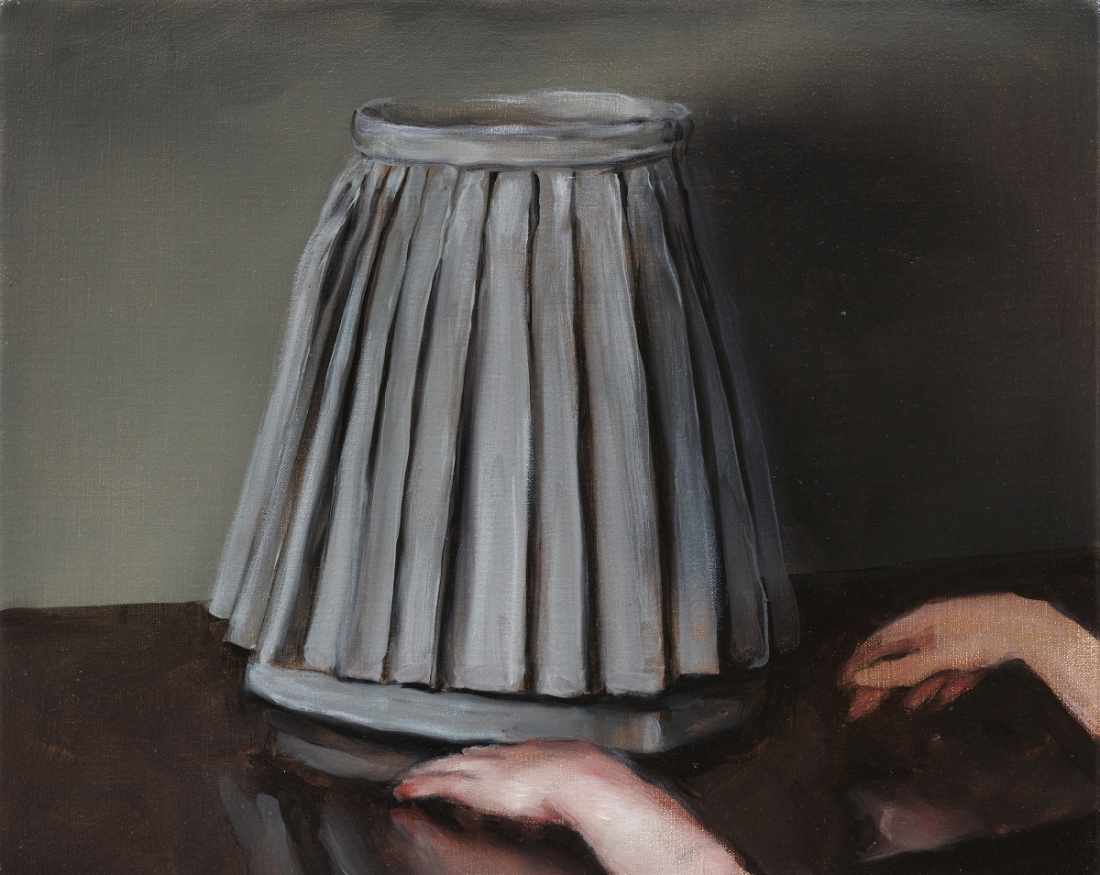 Michaël Borremans, The Skirt (2), 2005.