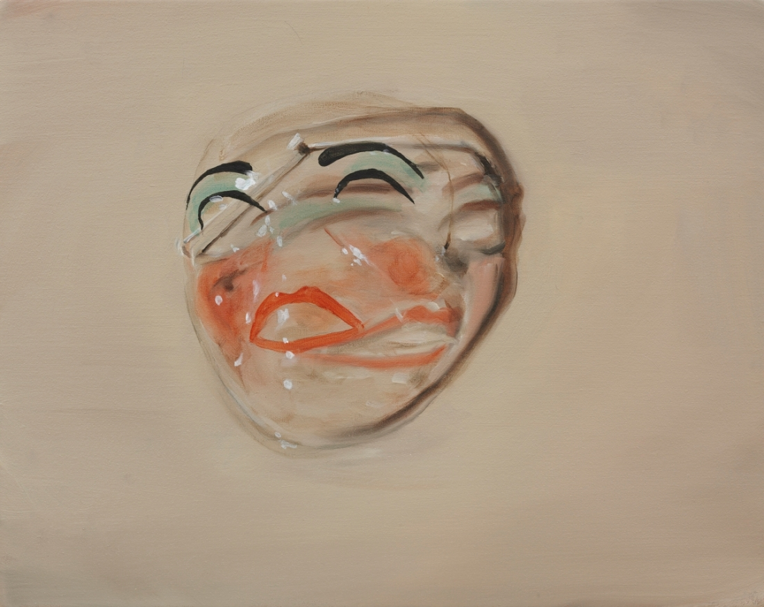 Michaël Borremans, Mask, 2008.