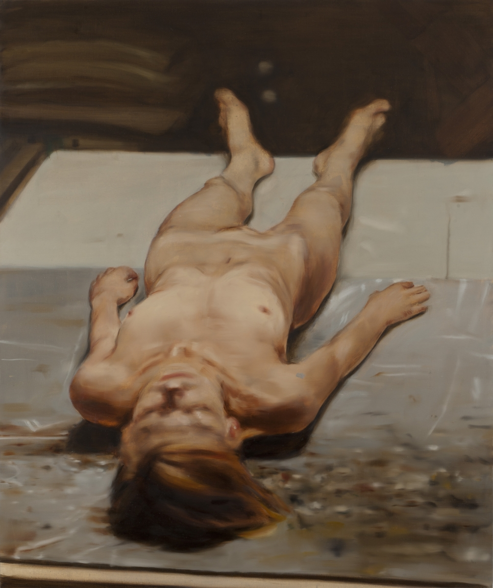 Michaël Borremans, The Nude, 2010.