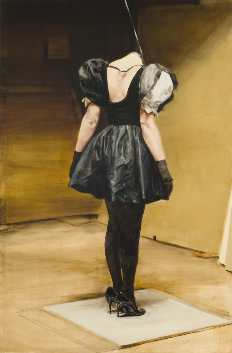 Michaël Borremans, The Loan, 2011.