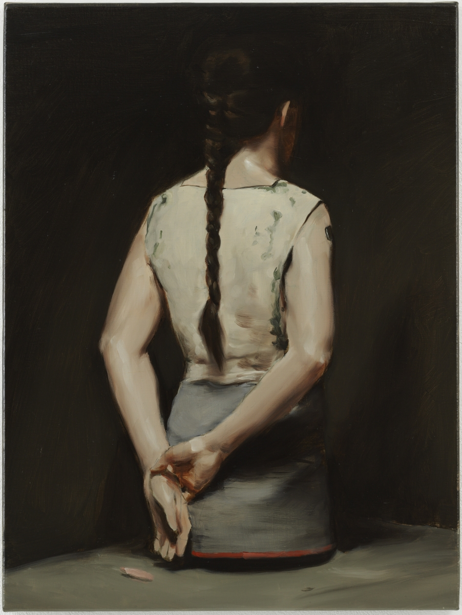 Michaël Borremans, Automat (1), 2008.