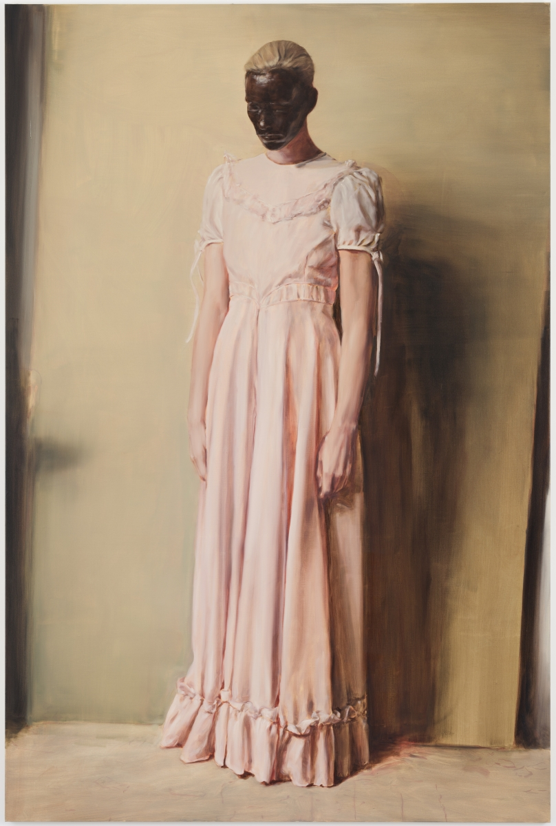 Michaël Borremans, The Angel, 2013.