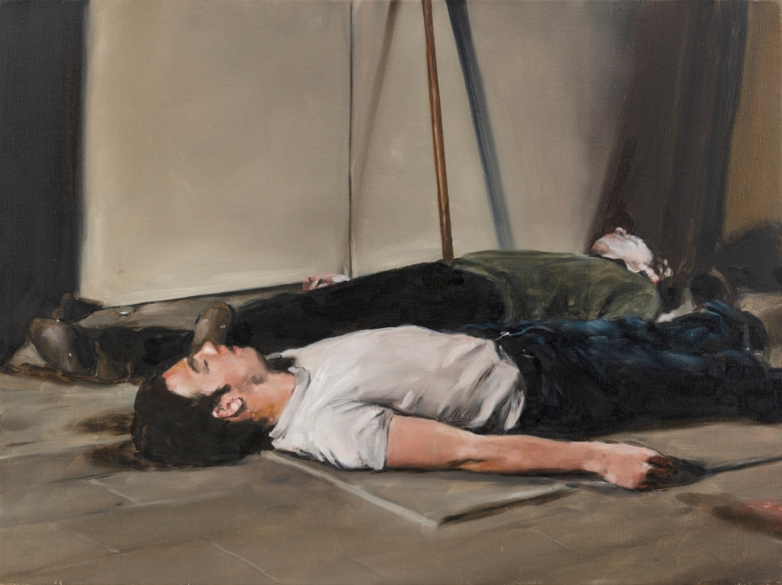 Michaël Borremans, The Bodies, 2005.
