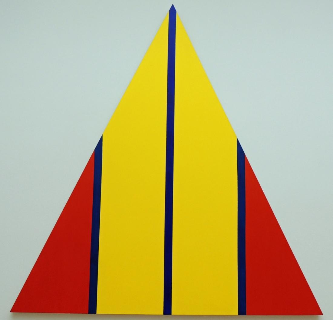 Barnett Newman, Chartres, 1969.