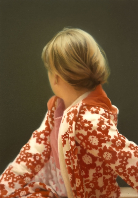 Gerhard Richter, Betty, 1988. Collection of the Saint Louis Art Museum.