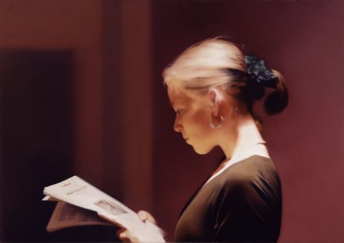 Gerhard Richter, Reader, 1994. Collection of the San Francisco Museum of Modern Art.