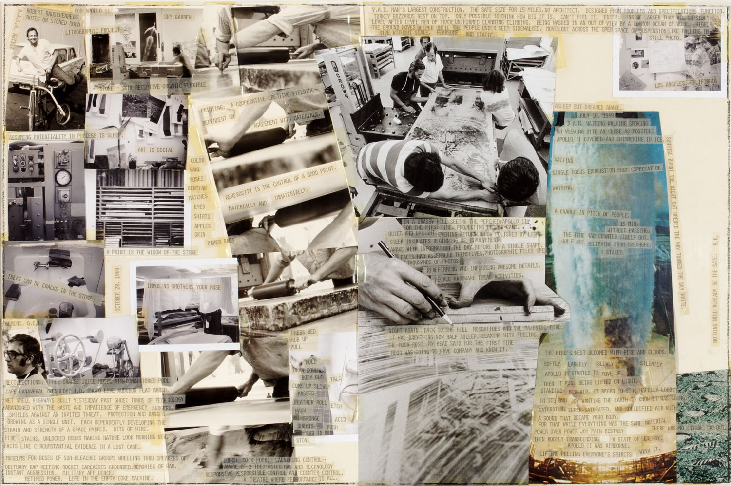 robert rauschenberg 1 september 2007 – 27 january 2008 beauty is now underfoot wherever we take the trouble to look 1 robert rauschenberg has had an extensive impact on late twentieth-century visual culture.