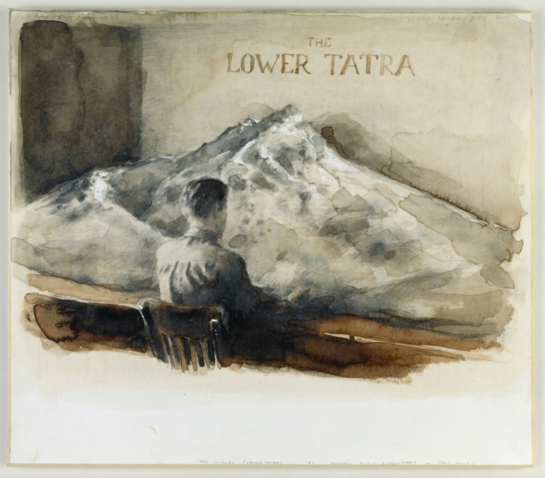 Michaël Borremans, The Journey (Lower Tatra), 2003.