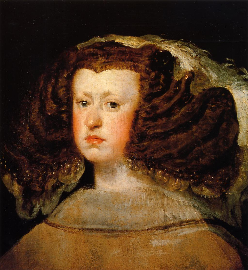 Diego Velazquez, Portrait of Queen Mariana, c. 1656. Collection of the Meadows Museum, Dallas.