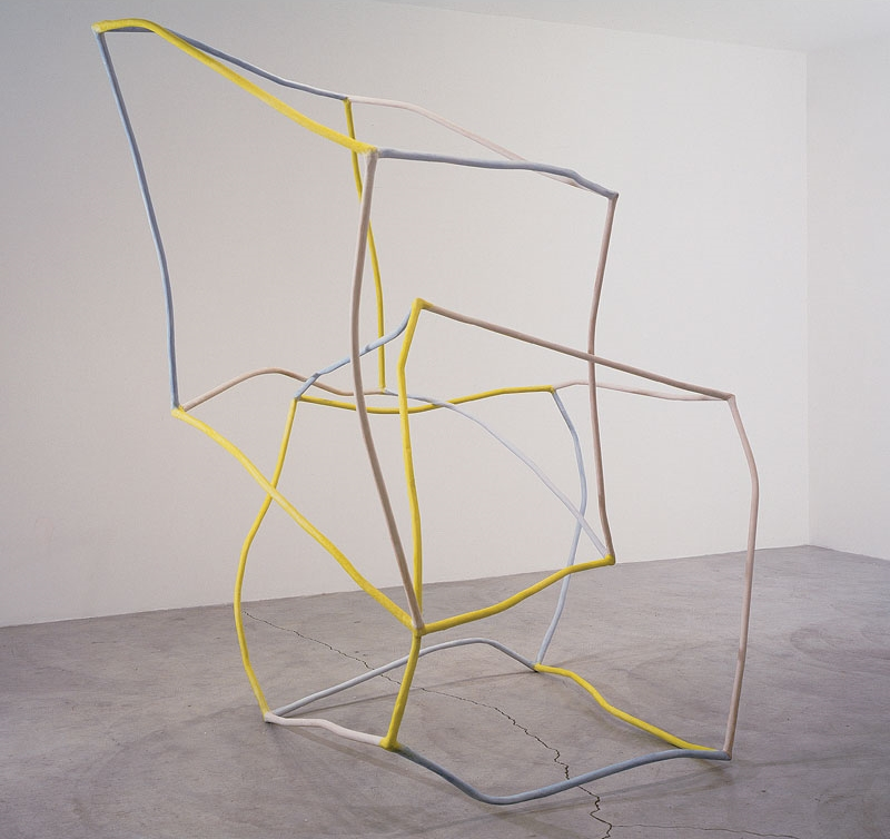 Liz Larner, 2 as 3 and Some, 1997. Collection of the Museum of Contemporary Art, Los Angeles.