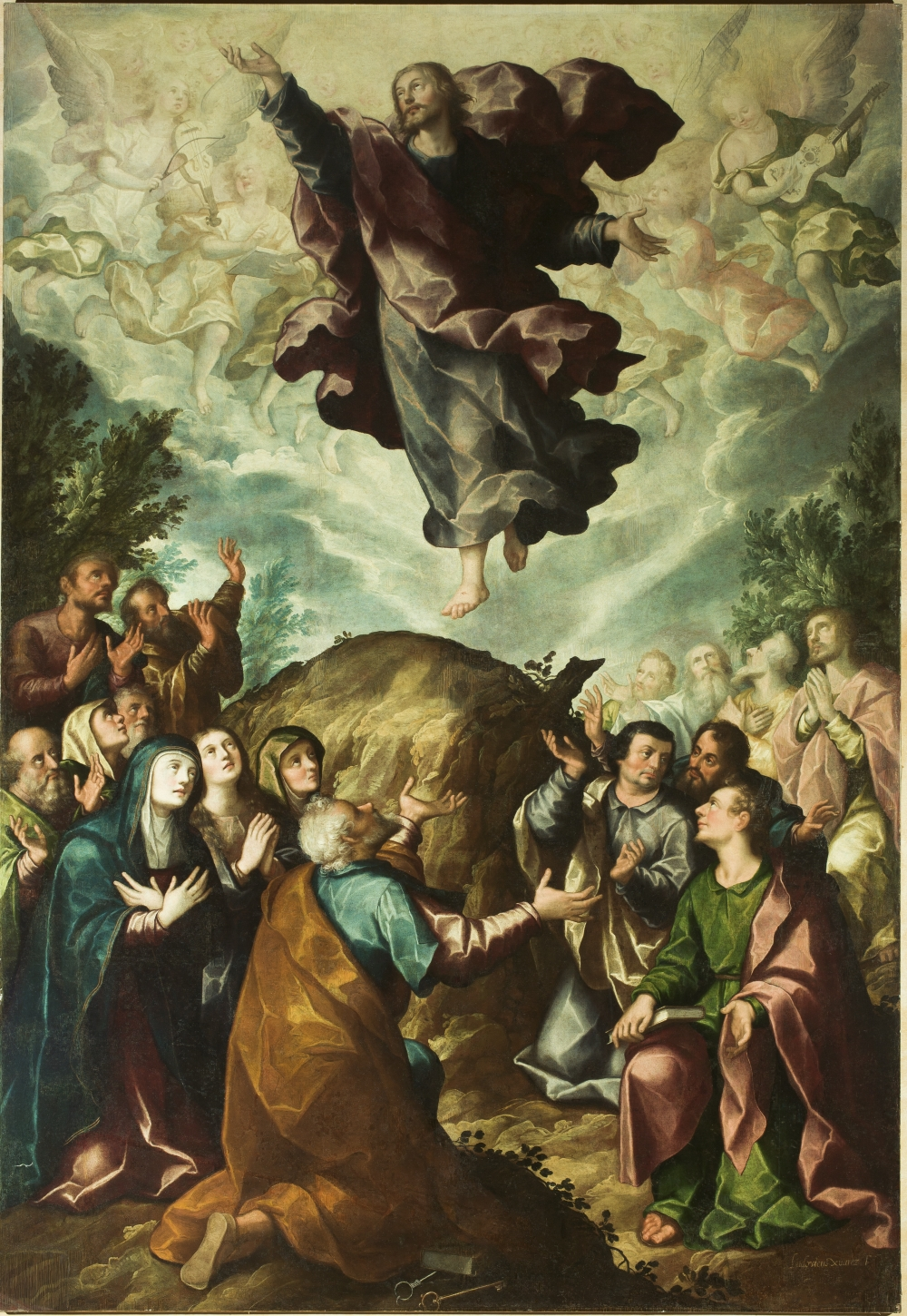 Luis Juarez, Ascension, ca. 1625-30.