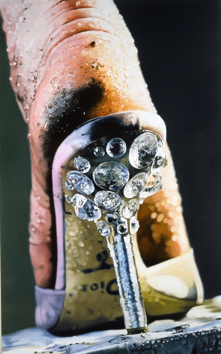 Marilyn Minter, Strut, 2005. Collection of the San Francisco Museum of Modern Art.