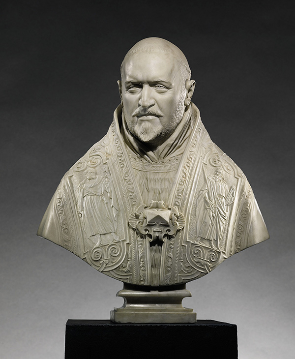 Gian Lorenzo Bernini, Bust of Pope Paul V, 1621.
