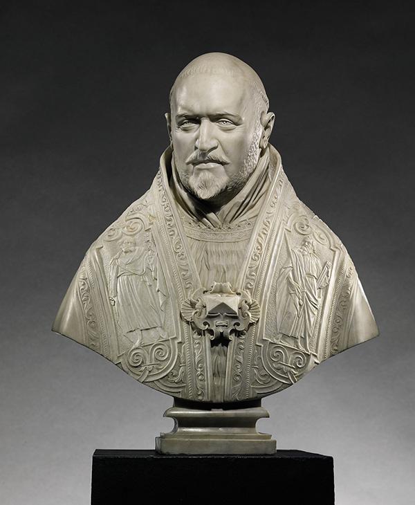 Gian Lorenzo Bernini, Bust of Pope Paul V, 1621.