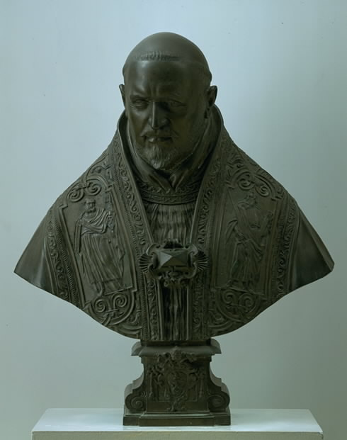 Giovanni Lorenzo Bernini, Bust of Pope Paul Vi, 1621-22.
