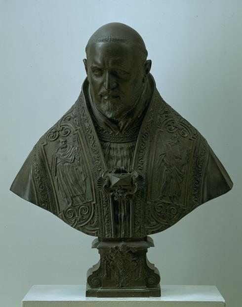 Giovanni Lorenzo Bernini, Bust of Pope Paul Vi, 1621-22.
