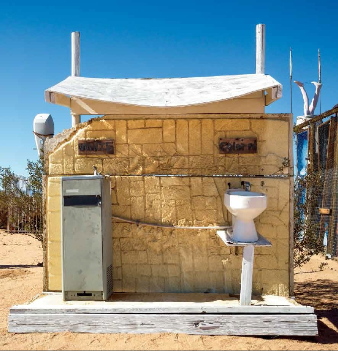 Noah Purifoy, White/Colored, 2000.