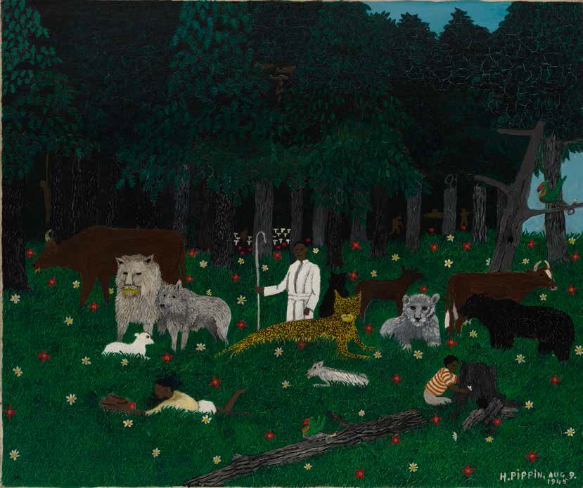Horace Pippin, The Holy Mountain III, 1945.