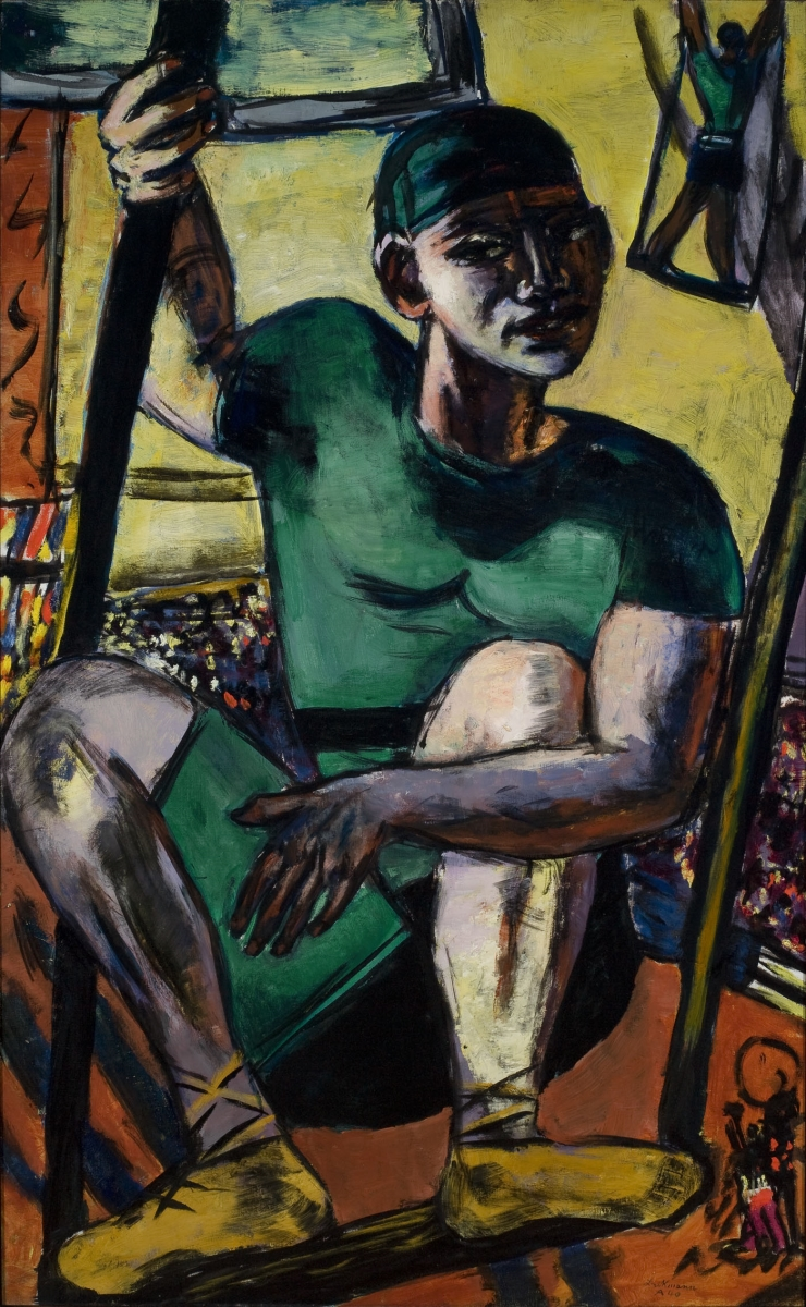 Max Beckmann, Acrobat on the Trapeze, 1940.