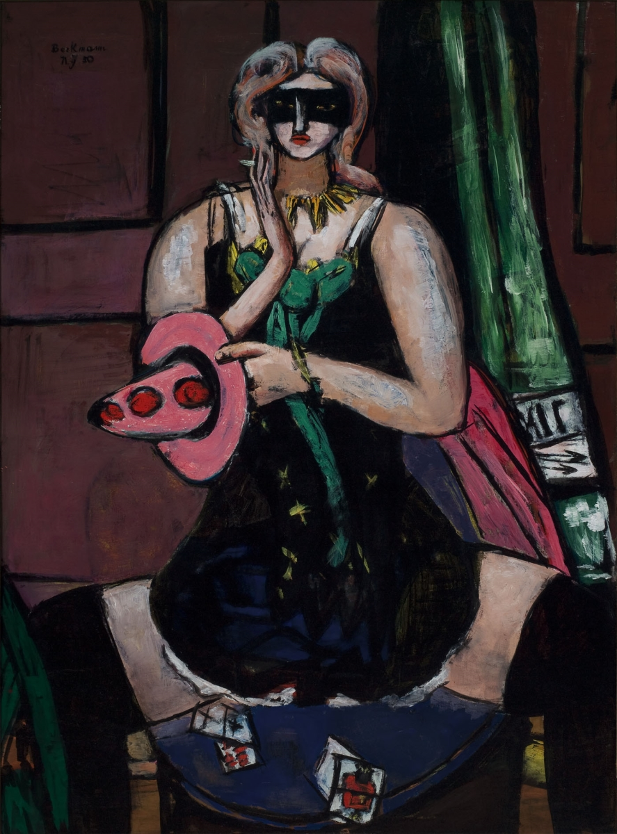 Max Beckmann, Carnival Mask, 1950.