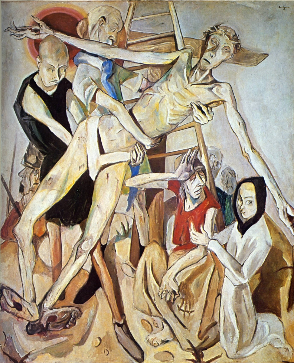 Max Beckmann, Descent from the Cross, 1917.