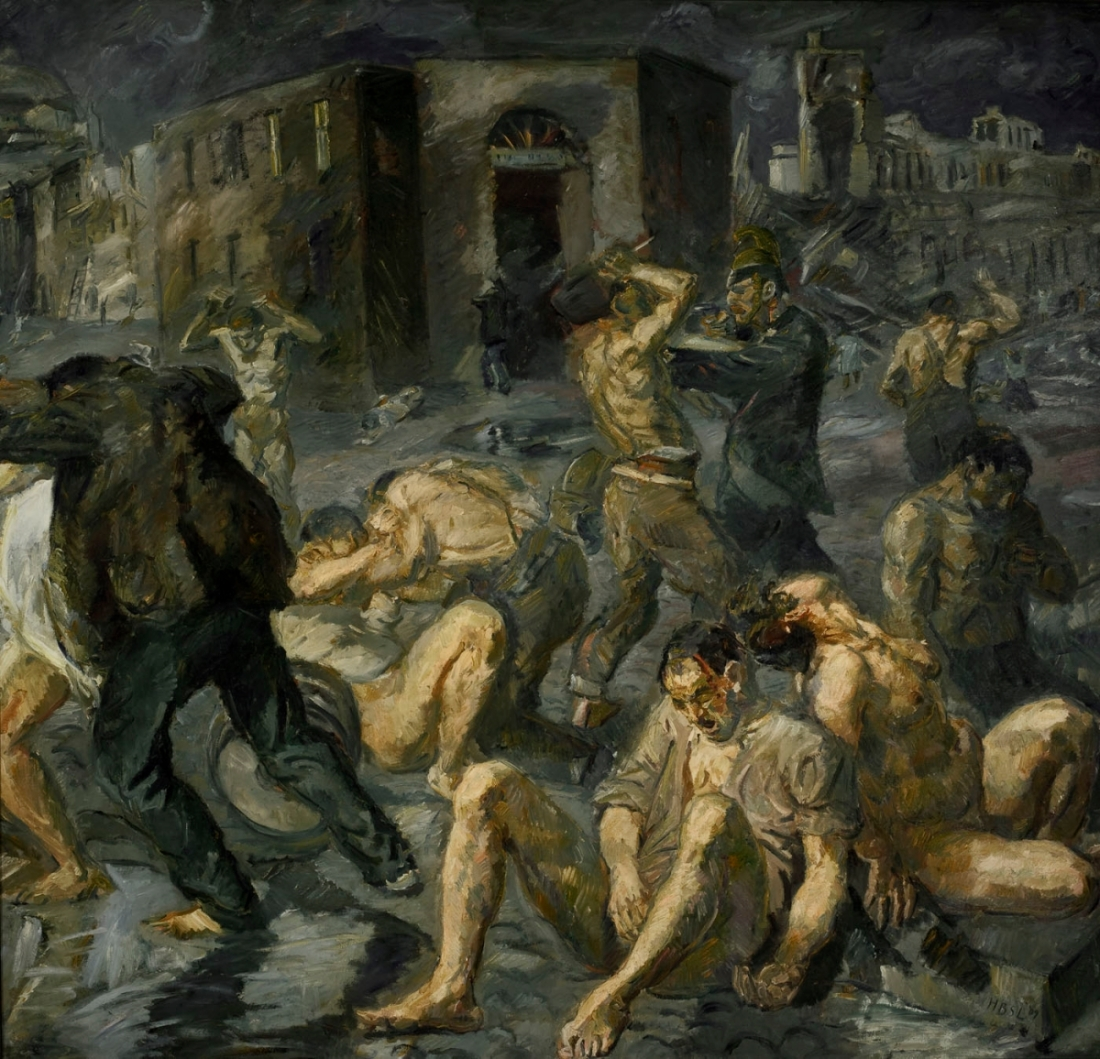 Max Beckmann, Scene from the Destruction of Messina, 1909.