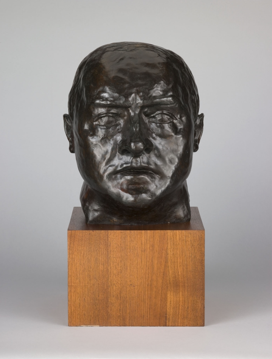 Max Beckmann, Self-Portrait, 1936, cast 1958-59.