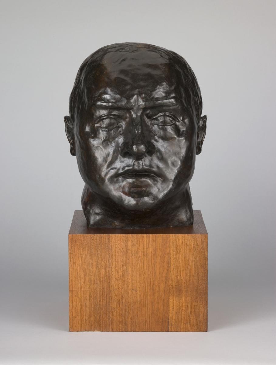 Max Beckmann, Self-Portrait, 1936, cast 1958-59.
