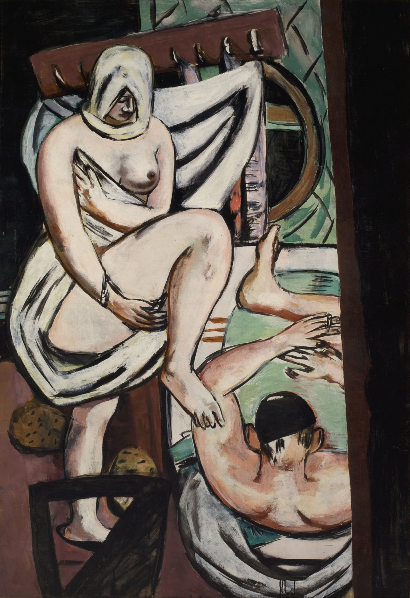 Max Beckmann, The Bath, 1930.