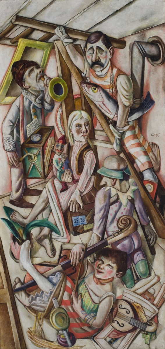 Max Beckmann, The Dream, 1921.