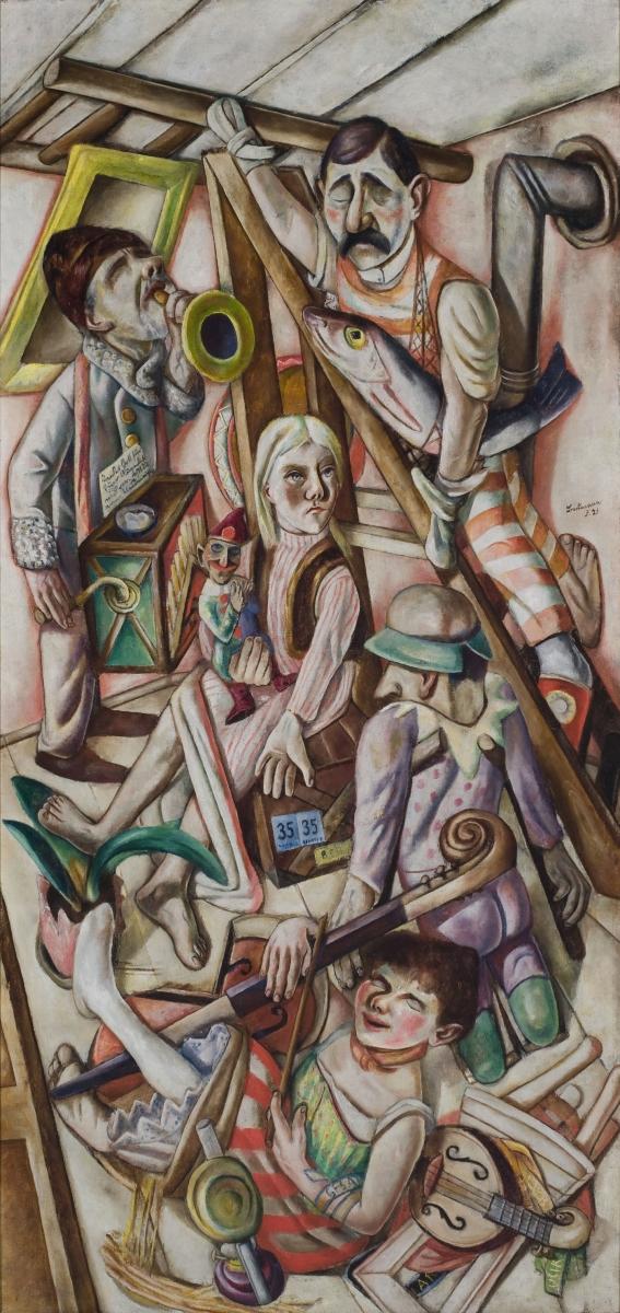 Max Beckmann, The Dream, 1921.