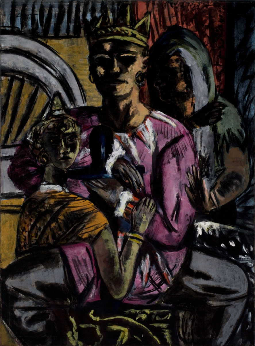 Max Beckmann, The King, 1933, 1937.