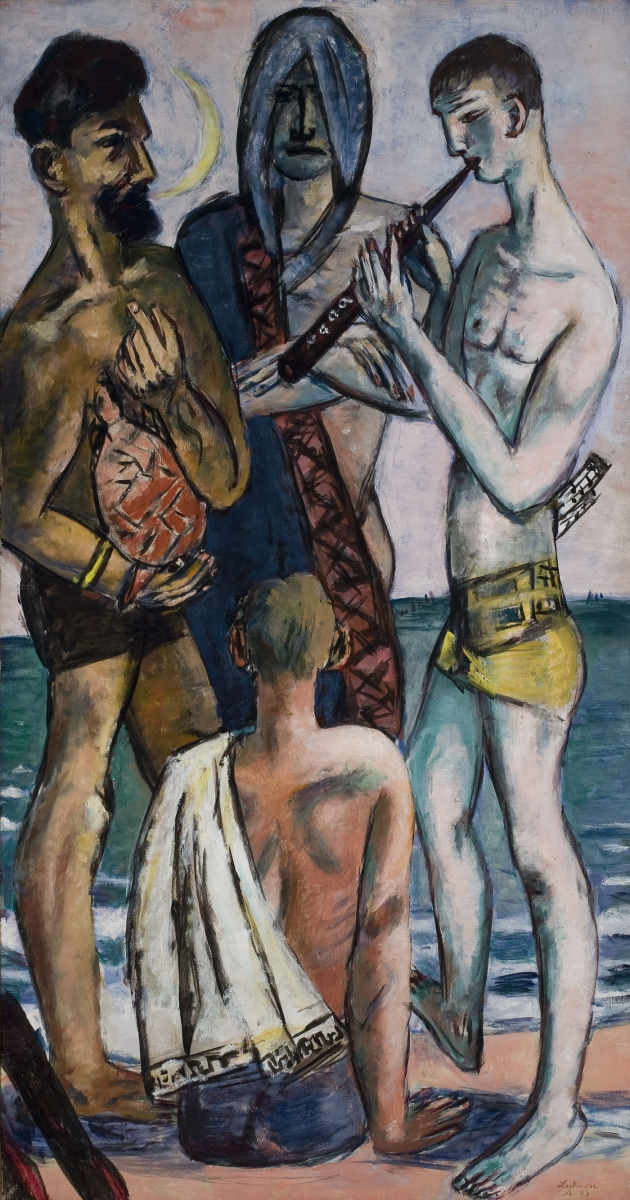Max Beckmann, Young Men by the Sea, 1943.