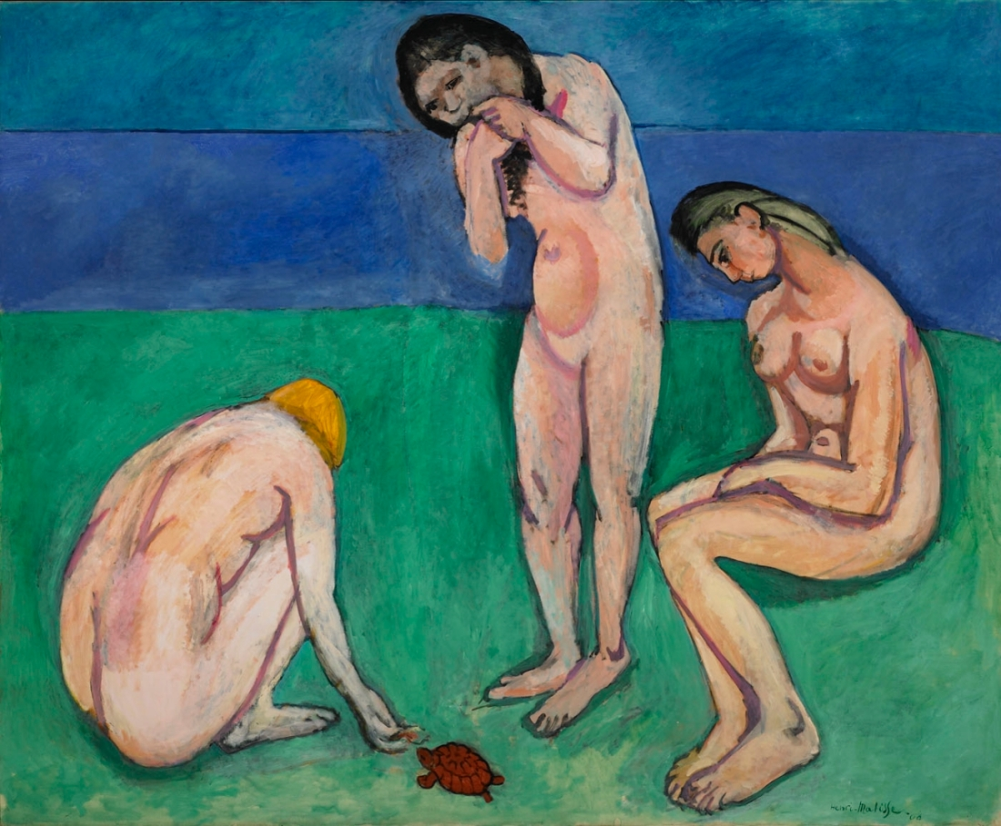 Henri Matisse, Bathers with a Turtle, 1907-08.