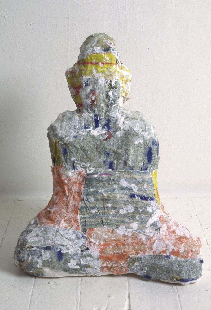 Arlene Shechet, One Buddha, 1994.
