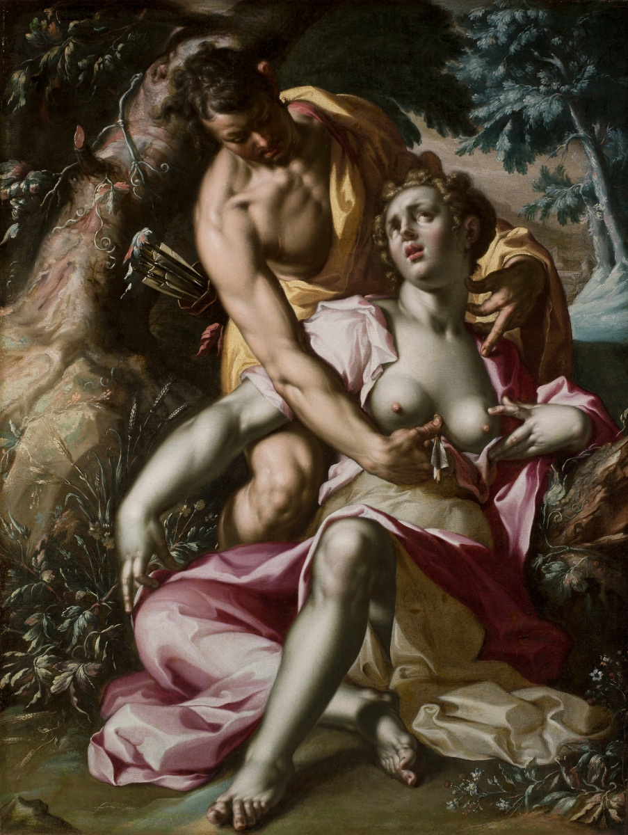 Joachim Wtewael, The Death of Procris, 1595-1600.