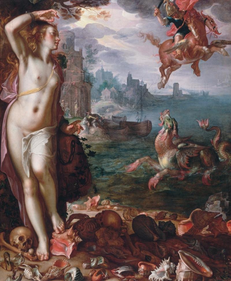 Joachim Wtewael, Perseus and Andromeda, 1611.