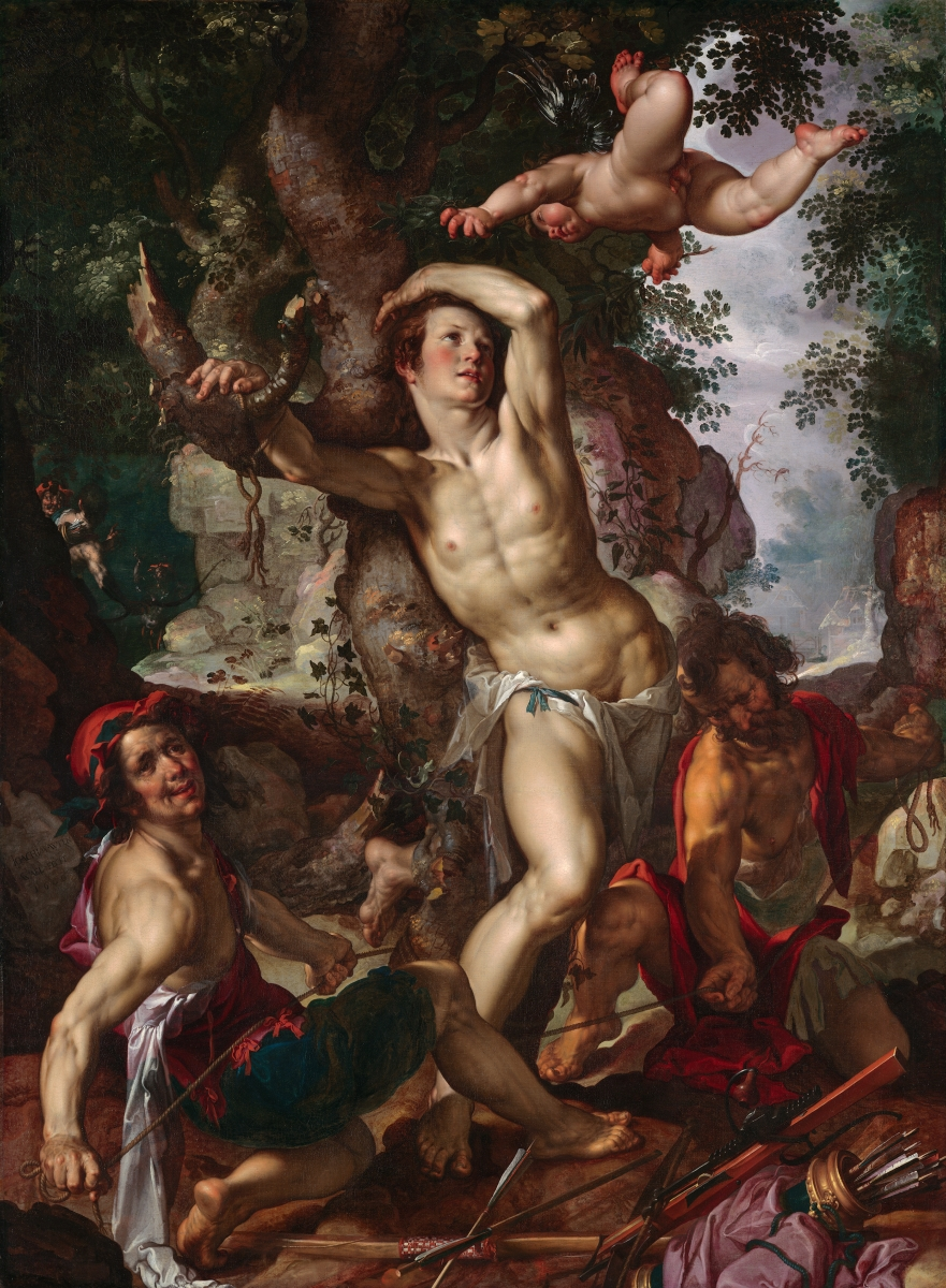 Joachim Wtewael, The Martyrdom of Saint Sebastian, 1600.
