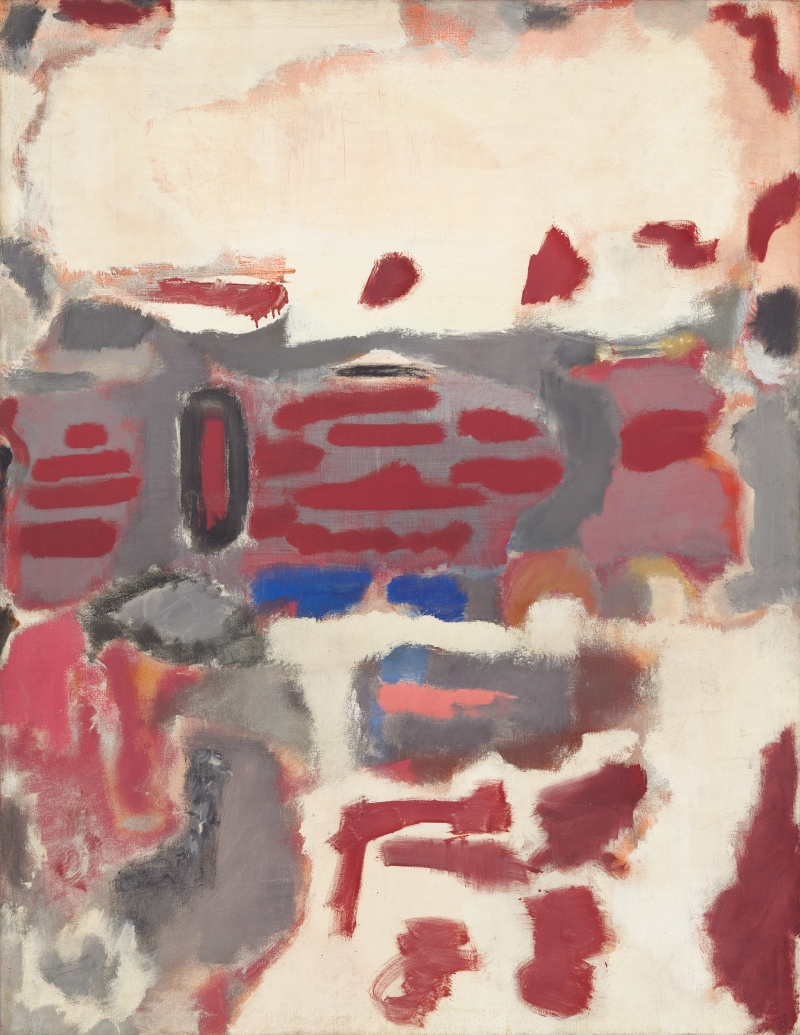 Mark Rothko, No. 2, 1947. [MFAH catalogue #15.]