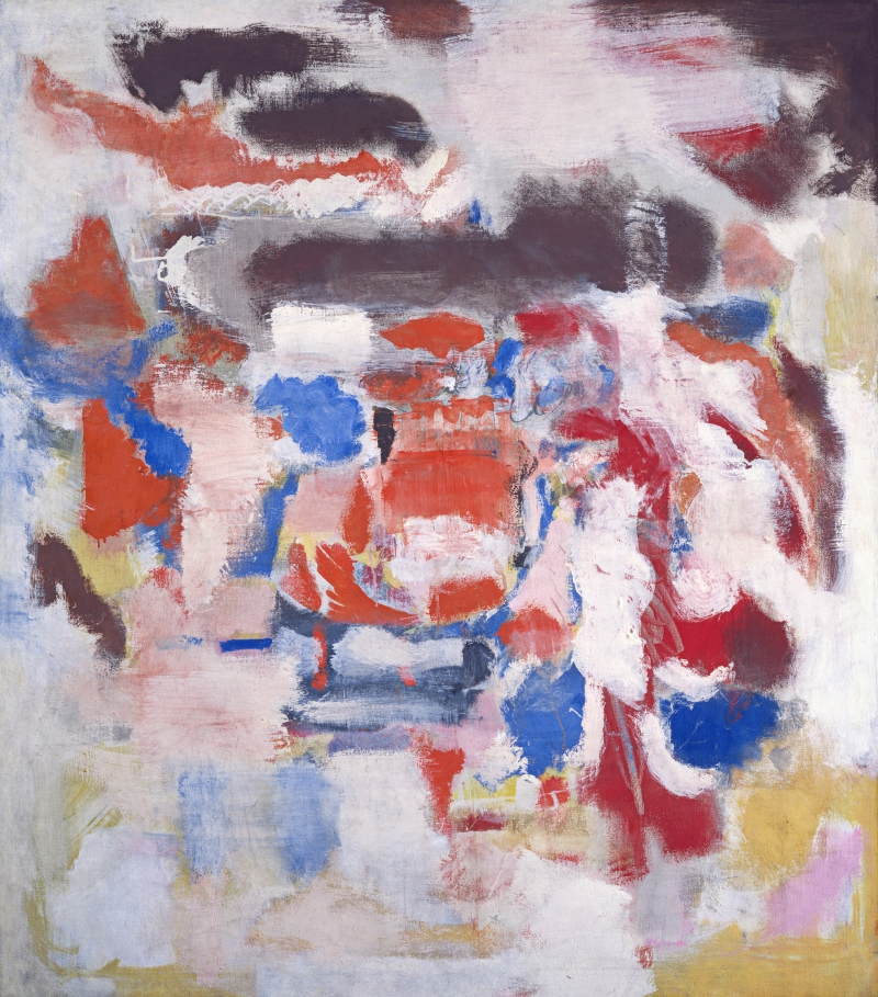 Mark Rothko, Untitled, 1948. [MFAH catalogue #17.]