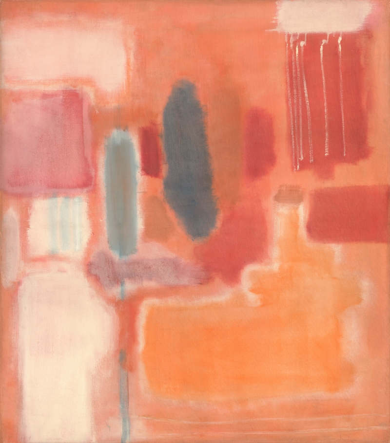 Mark Rothko, No. 9, 1948. [MFAH catalog #18.]