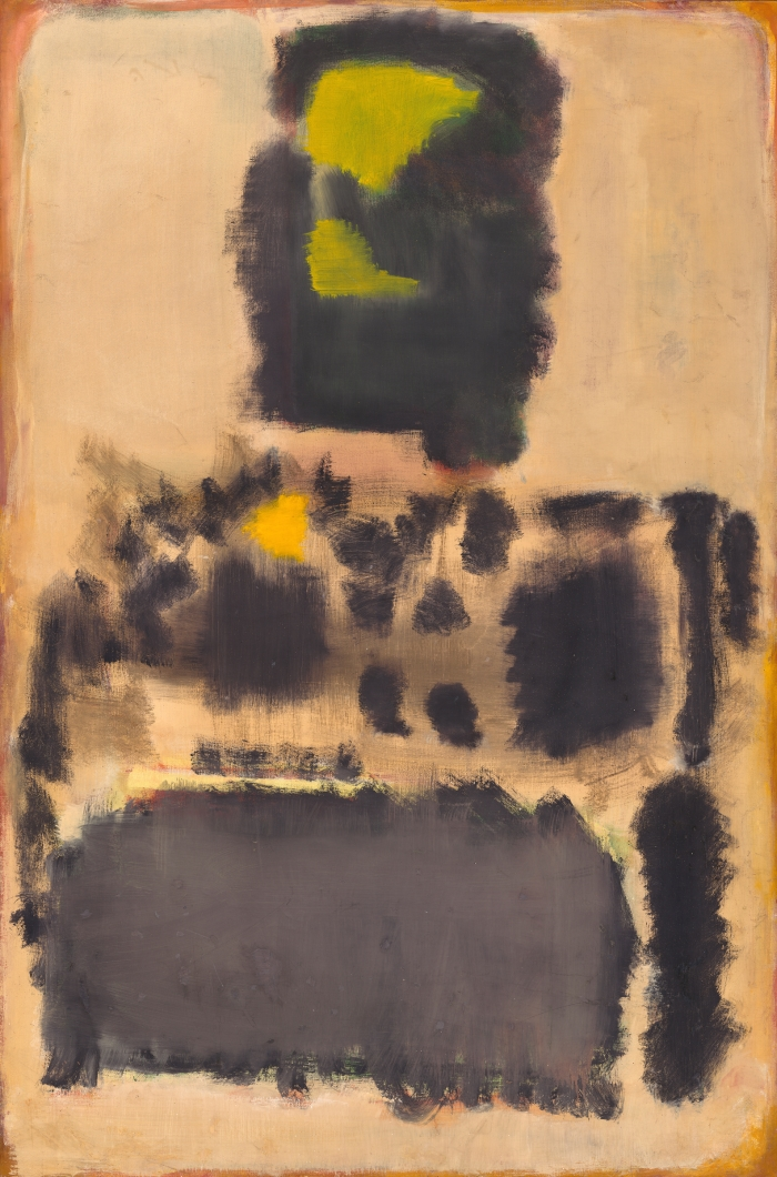 Mark Rothko, No. 10, 1948. [MFAH catalogue #19.]
