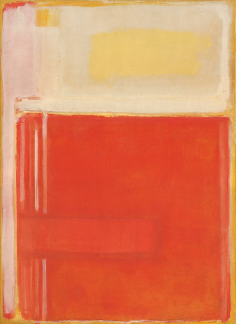Mark Rothko, No. 8. 1949. [MFAH catalogue #24.]
