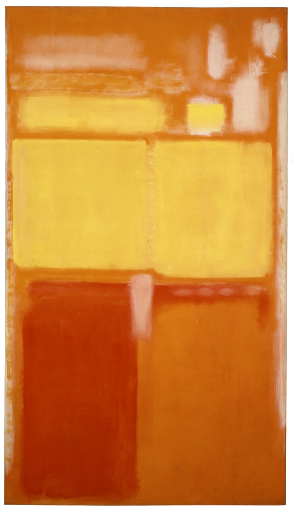 Mark Rothko, No. 21 (Untitled), 1949. [MFAH catalogue #21.]