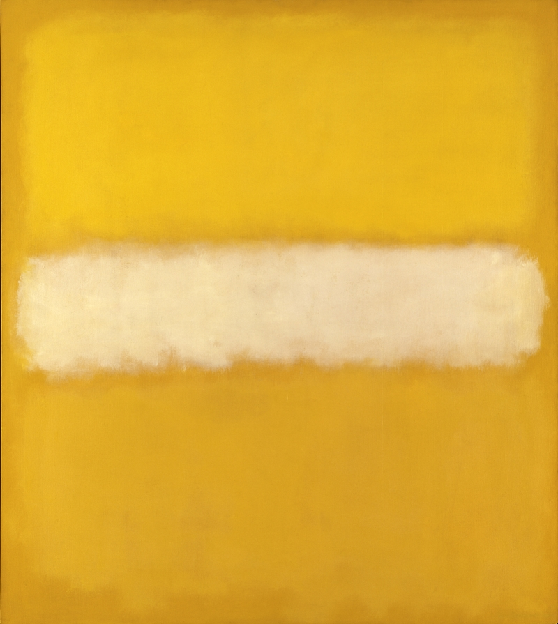 Mark Rothko, No. 10, 1957. [MFAH catalogue #39.]