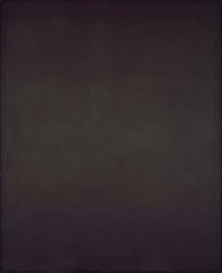 Mark Rothko, No. 6, 1964. [MFAH catalogue #49.]