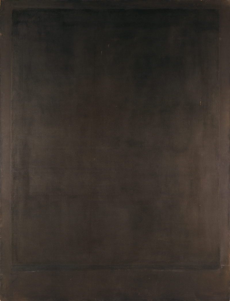 Mark Rothko, No. 8, 1964. [MFAH catalogue #51.]