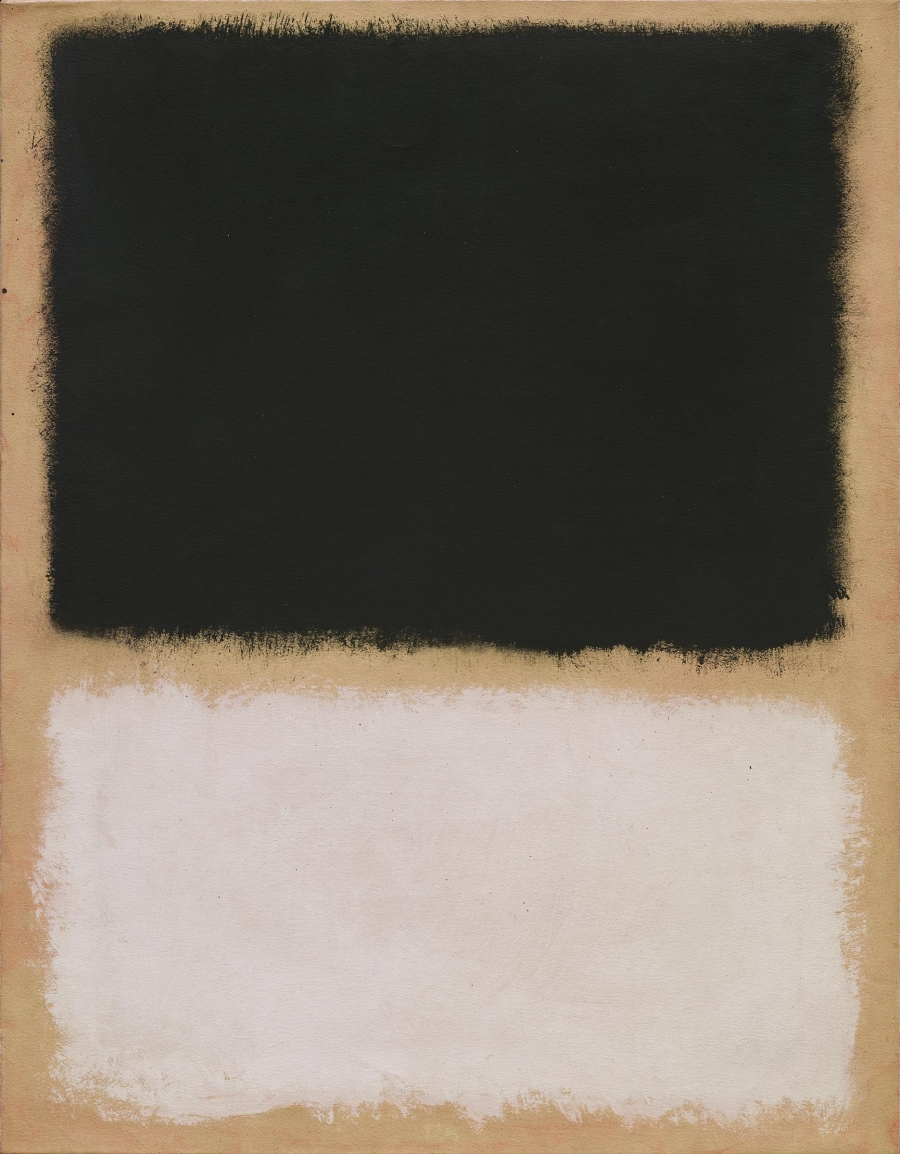 Mark Rothko, Untitled, 1968. [MFAH catalogue #54.]